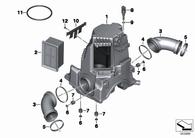 Filtro de Aire BMW R1200 GS 04-13 (13717706414)