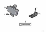 Indicador de Presión de Neumáticos R1200 GS/GSA 06-13 (36318532731)