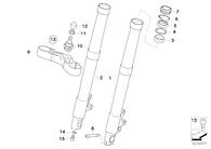 Perno para Telescopicas R1200 GS/GS Adeventure (07129904477)