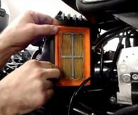 Cambio Filtro de Aire varias Motos