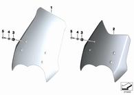 Golilla de Goma para Parabrisas G650,F800,R1200 GS/GS Adventure (46637709435)