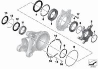 Tapa Plastico para Diferencial R1200 GS/GS Adventure (33117665055)