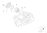 O-ring para Tapa Filtro Aceite G650 GS (11417654013)
