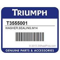 Golilla Aluminio 15.2x23x1.5 Cambio de Aceite Triumph (T3555001)