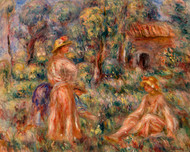 Pierre Auguste Renoir - Girls in a Landscape