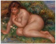 Pierre Auguste Renoir - Bather Gazing at Herself in the Water