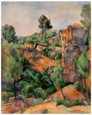 Paul Cezanne - Bibemus Quarry
