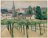 Paul Cezanne - Village Square