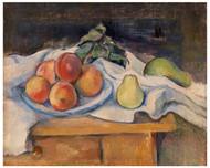 Paul Cezanne - Fruit on a Table