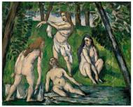 Paul Cezanne - Four Bathers