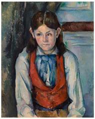 Paul Cezanne - Boy in a Red Vest