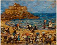 Maurice Brazil Prendergast - Seascape St Malo