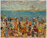 Maurice Brazil Prendergast - Beach Scene 1910