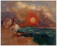 Odilon Redon - Saint George and the Dragon
