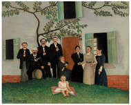 Henri Rousseau - The Family