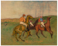 Edgar Degas - Jockeys and Race Horses