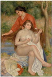 Pierre Auguste Renoir - Bather and Maid