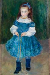 Pierre Auguste Renoir - Girl with Jump Rope