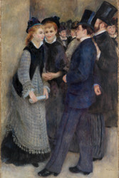 Pierre Auguste Renoir - Leaving the Conservatory