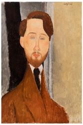Amedeo Modigliani Print - Leeopold Zbrowksi