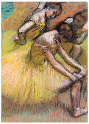 Edgar Degas Print - Group of Dancers