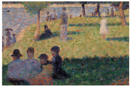 Georges Seurat - Group of Figures Study For un Dimanche a la Grande Jatte