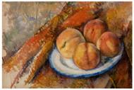 Paul Cezanne - Four Peaches on a Plate