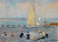 William James Glackens - Seascape with Six Bathers Bellport