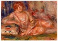 Pierre Auguste Renoir - Andree in Pink Reclining
