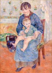Pierre Auguste Renoir - Young Mother