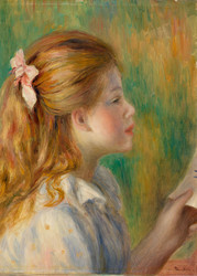 Pierre Auguste Renoir - Reading