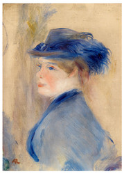 Pierre Auguste Renoir - Bust of a Woman