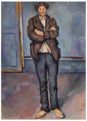 Paul Cezanne - Peasant Standing with Arms Crossed