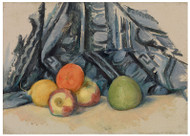Paul Cezanne - Apples and Cloth