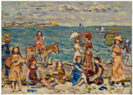 Maurice Brazil Prendergast - At the Beach