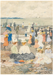Maurice Brazil Prendergast - On the Beach