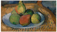 Paul Cezanne - Plate of Fruit on a Chair