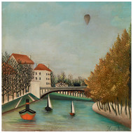 Henri Rousseau - Study for View of the Pont de Sevres