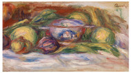 Pierre Auguste Renoir - Bowl, Figs and Apples