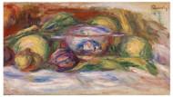 Pierre Auguste Renoir - Bowl, Figs and Apples