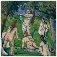 Paul Cezanne - Five Bathers