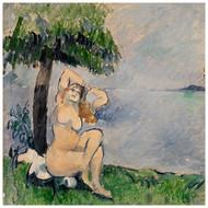 Paul Cezanne - Bather at the Seashore