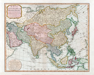Asia 1799 Map