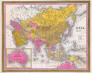 Asia Including Australia 1846