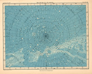 Atlas of Astronomy by Alex Keith Johnston Plate - 19. Maps of the Stars no.5