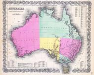 Australia JH Colton 1856