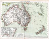 Australia and New Zealand 1895