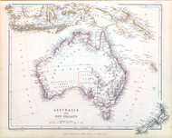 Australia and New Zealand Sharpes 1848