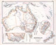 Australia and New Zealand 1872