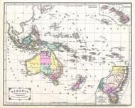 Australia Oceania Cornells 1856